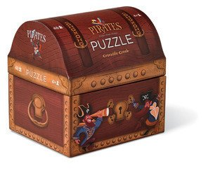Puzzle 48 el., motyw Piraci, Crocodile Creek