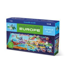 Puzzle odkrywcy - Europa, Crocodile Creek 2920-3
